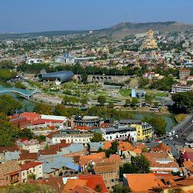 Tibilisi by Tomasz Budziak - City,  Street & Park  Historic Districts ( georgia, city )