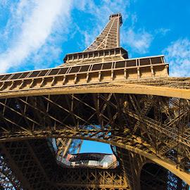 Eiffel Tower by Photoxor AU - Buildings & Architecture Public & Historical ( eiffel tower, paris, sky, france, architecture, steel,  )