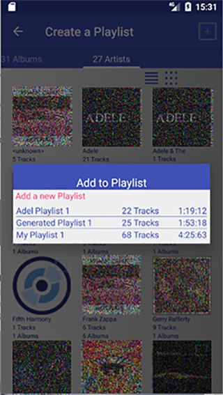 New Playlist Manager Screenshot 5