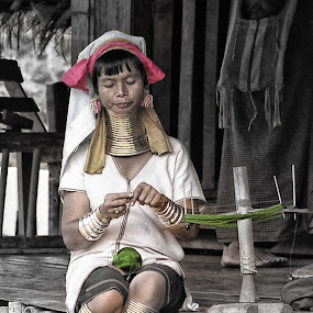 Lady From The North by CLINT HUDSON - News & Events World Events ( kayan, ethnic, long necked., thailand, hill tribe )