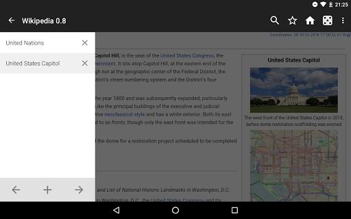 Kiwix, Wikipedia offline screenshot 9