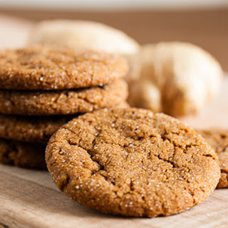 Fresh Ginger Molasses Cookies