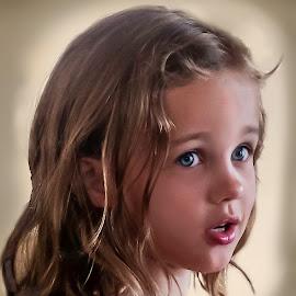 Pretty is as pretty does! by William Underwood  - Babies & Children Children Candids