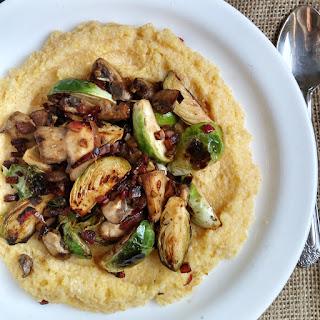 Cheesy Garlic Polenta Recipes