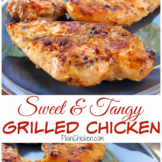 Sweet & Tangy Grilled Chicken