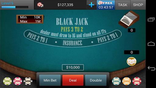 BlackJack 21 - screenshot