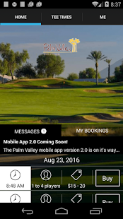 Palm Valley Tee Times - screenshot