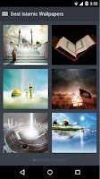 Screenshot of Best Islamic Wallpapers