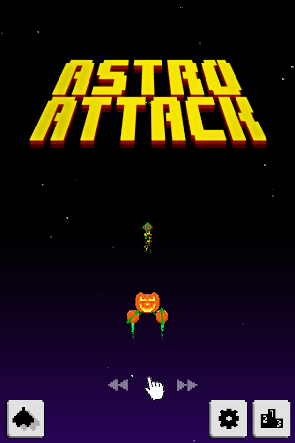 Astro Attack Screenshot 0