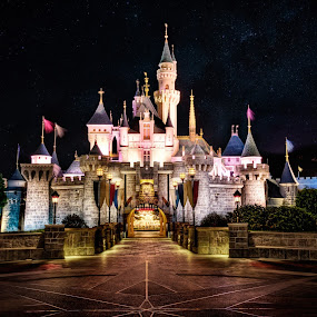 The Fantasy Land by Gema Goeyardi - Buildings & Architecture Public & Historical ( hong kong, castle, disneyland )