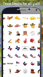 Texas Emoji - screenshot