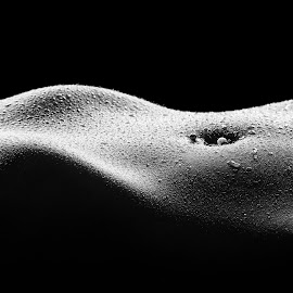 Bodyscape by Robert Jr Choquette - Nudes & Boudoir Artistic Nude ( studio, body, sexy, lighting, drops, wet, choquette, robert, shadows, skin, bodryscape,  )