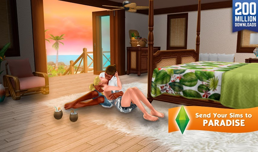 The Sims FreePlay Android App Screenshot