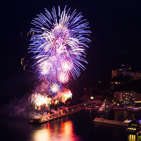 fireworks from monaco by Cédric Nouvel - Public Holidays Other