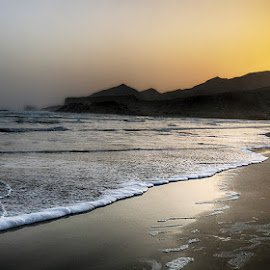 Kund Malir by Abdul Rehman - Instagram & Mobile iPhone ( sand, pakistan, nature, sunset, beach, natural, baluchistan )