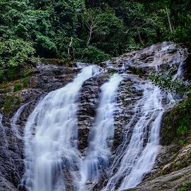 Iskandar Fall by Joseph Law - Landscapes Waterscapes