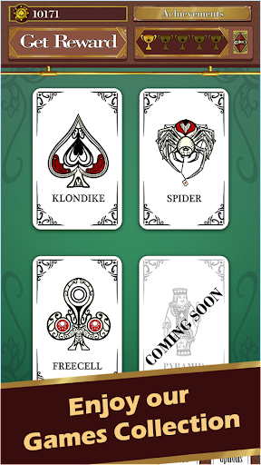 Solitaire Saloon - Klondike, FreeCell and Spider