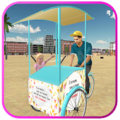 Free Beach Ice Cream Man Free Delivery Simulator Games APK for Windows 8