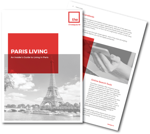 Living in Paris: Your Free Guide from thesqua.re logo
