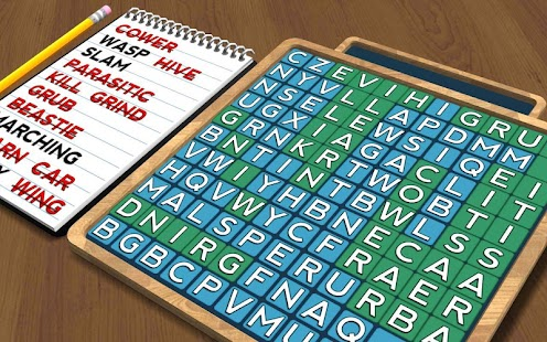 Wordsearch Revealer - Critters - screenshot