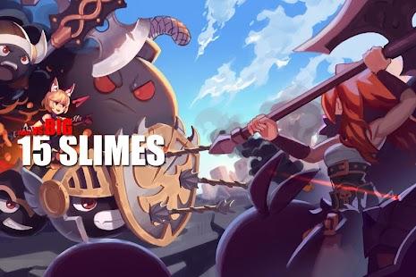 Game 15 Slimes : Last Defense apk for kindle fire
