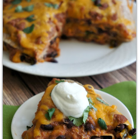 Recipe for Slow Cooker Mexican Tortilla Pie