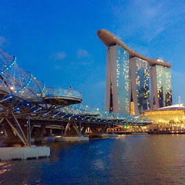 Marina Bay Sands, Singapore by Jenny Del Rio - Instagram & Mobile iPhone