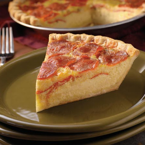 Pepperoni Pie (Quiche)
