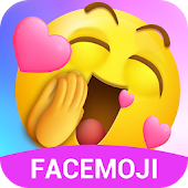 Awesome Emotional Emoji Sticker && Keyboard Gif APK for Bluestacks