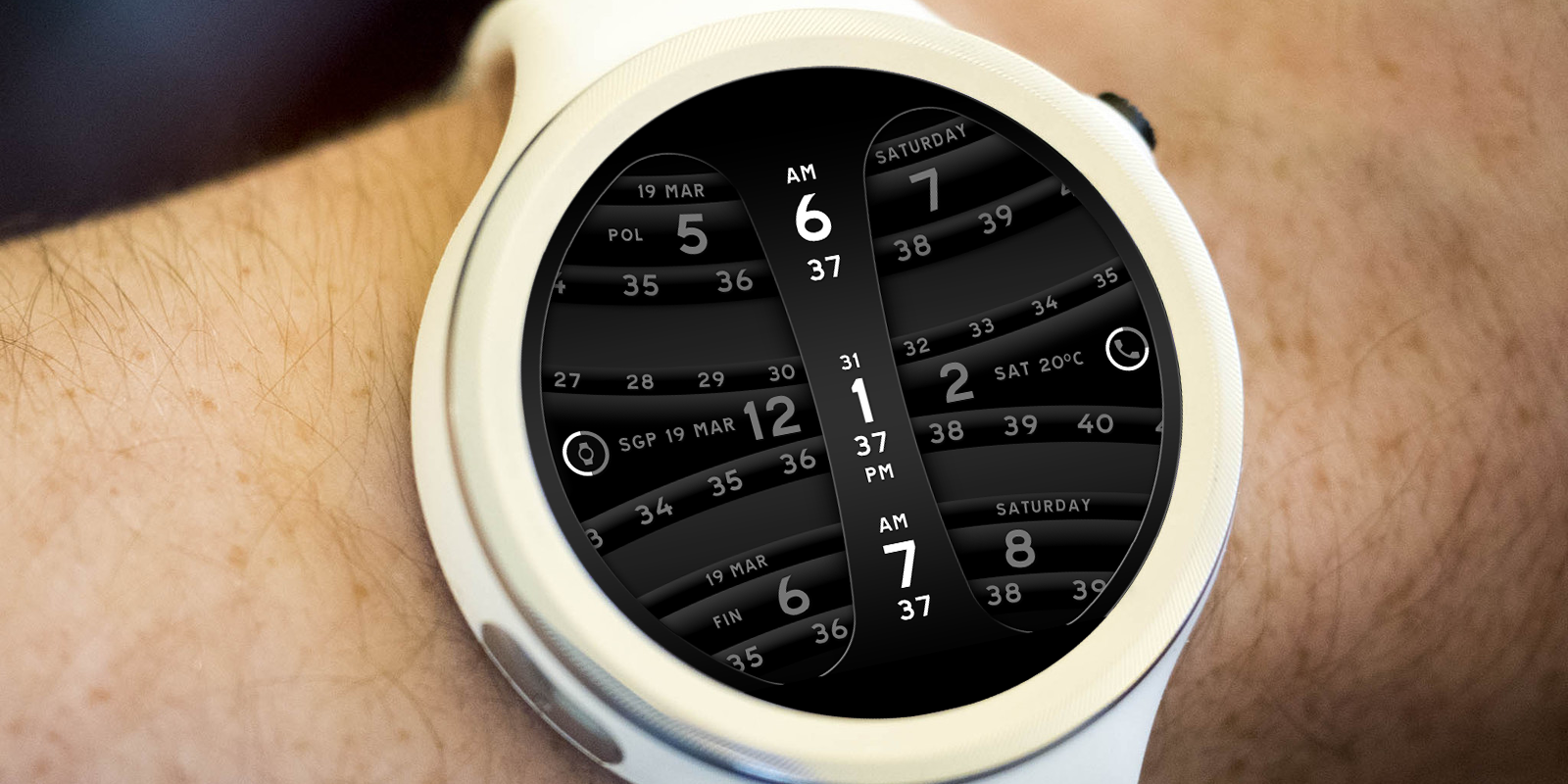 Global Timer Watch Face Screenshot 13