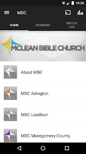 McLean Bible Church - screenshot