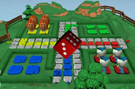 Ludo 3D Multiplayer - screenshot