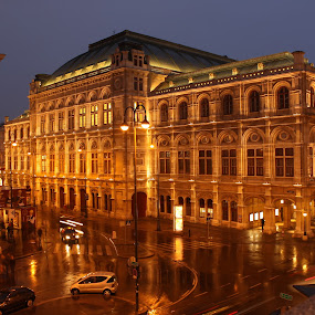 Vienna at night by Svetlana Joshi - Buildings & Architecture Other Exteriors