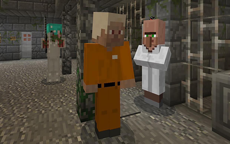 Ausstieg Aus Dem Gefängnis Minecraft PE Karten Quest Adventu - Minecraft gefangnis spiele