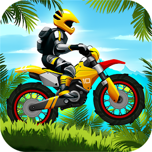 Jungle Motocross Kids Racing Icon