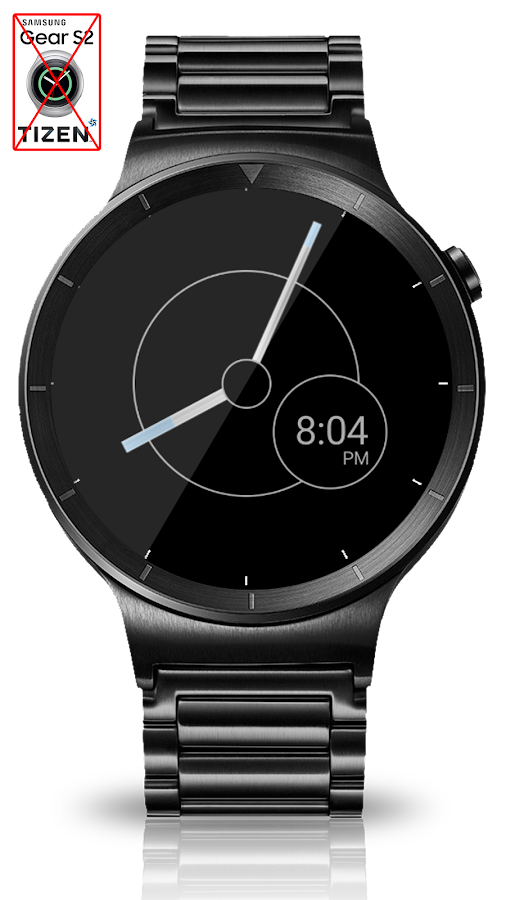 Black Metal HD Watch Face Screenshot 10