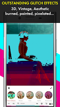 Glitch Photo Maker - Glitch Art & Trippy Effects APK screenshot thumbnail 1
