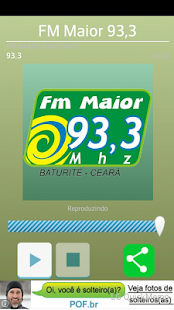 FM Maior 93,3 - screenshot