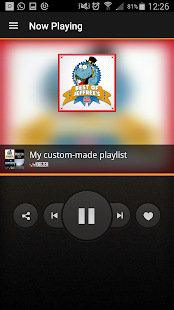 miRoamer Internet Radio Screenshot