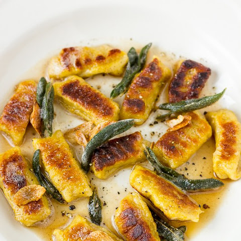Butternut Squash Gnocchi with Brown Butter and Crispy Sage Leaves