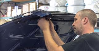 Bug shield installation on a Hyundai Santa Fe - Ottawa