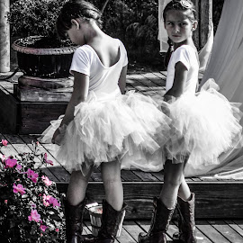by Lisa Frisby - Wedding Other ( pink flower, tutu, wedding, pink, flowers, tutus, flower girls, floral, flower )