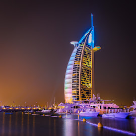 Burj Al Arab, Dubai by Dmitriy Andreyev - Buildings & Architecture Office Buildings & Hotels