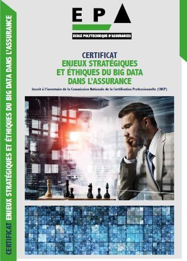 """Certificat """"Enjeux stratégiques et éthiques du Big Data dans l'assurance"""""""