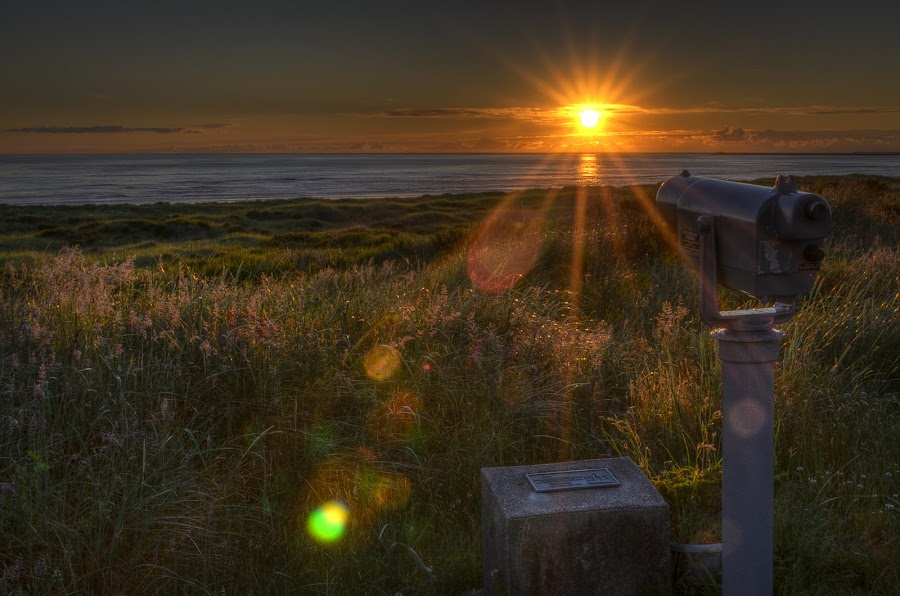 Longing by Scott Wood - Landscapes Sunsets & Sunrises ( washington, westport, ocean, beach, coast )