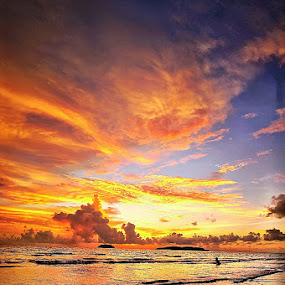 Burning Sky by Edo Kurniawan - Instagram & Mobile Other