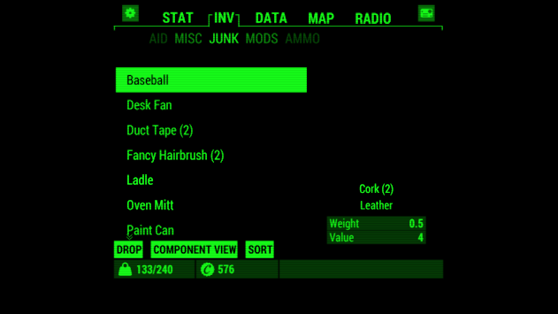 Fallout Pip-Boy APK screenshot thumbnail 2