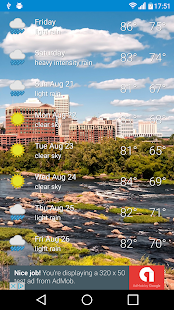 Richmond, VA - weather - screenshot