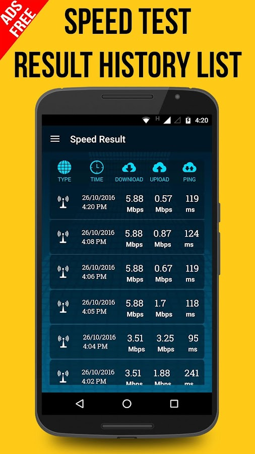 Speed Test Pro & Wifi Analyzer Screenshot 1