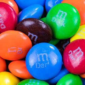 M&Ms by Robert George - Food & Drink Candy & Dessert